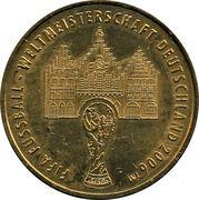 Médaille - Villes de la coupe du monde de la FIFA 2006 (Francfort) – avers