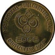 Médaille - Villes de la coupe du monde de la FIFA 2006 (Francfort) – revers