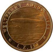 1929 Medal on the World Flight of the Graf Zeppelin – avers