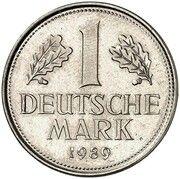 1 Deutsche Mark (Bolivar Overstrike) – revers