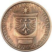 5 Deutsche Mark (Germanic Museum - Pattern) – revers