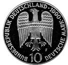 10 deutsche mark Friedrich I. Barbarossa – avers
