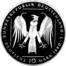 10 deutsche mark  Deutscher Orden – avers