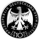 10 deutsche mark Käthe Kollwitz – avers