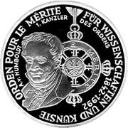 10 deutsche mark Décoration Pour le Mérite -  revers