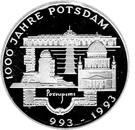 10 deutsche mark Potsdam – revers