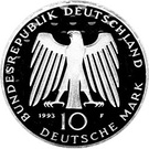10 deutsche mark Potsdam – avers