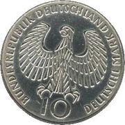 10 deutsche mark JO de Munich (Flamme) -  avers
