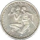 10 deutsche mark Jeux Olympiques de Munich – revers
