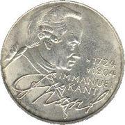 5 deutsche mark Immanuel Kant -  revers