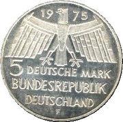 5 deutsche mark Europäisches Denkmalschutzjahr -  avers
