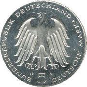 5 deutsche mark - Carl Reichsfreiherr vom Stein -  avers