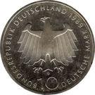 10 deutsche mark Bonn – avers