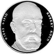 10 deutsche mark Robert Koch -  revers