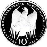 10 deutsche mark Robert Koch -  avers