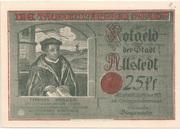 25 Pfennig (Allstedt) – avers