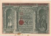 50 Pfennig (Allstedt) – avers