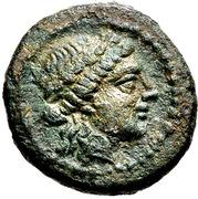 Bronze Æ14 (Alopekonnesos) – avers