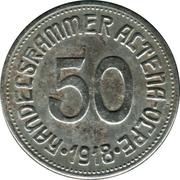 50 pfennig - Altena-Olpe – avers