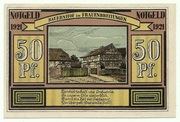 50 Pfennig (Alten- und Frauenbreitungen) – revers
