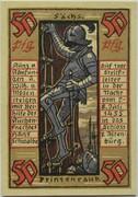 50 Pfennig (Altenburg; Prinzenraub Series) – revers