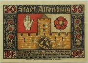 50 Pfennig (Altenburg; Prinzenraub Series) – avers