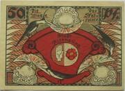 50 Pfennig (Altenburg; Skat Series - Players) – revers