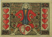 50 Pfennig (Altenburg; Skat Series - Skatbrunnen) – avers