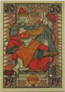 50 Pfennig (Altenburg; Skat Series - Skatbrunnen) – revers