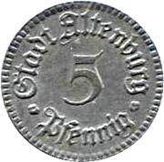 5 pfennig - Altenburg -  avers