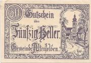 50 Heller (Altenfelden) -  avers