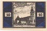10 Heller (Altenmarkt im Pongau) – avers