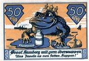 50 Pfennig (Altenwerder and Finkenwerder) – revers