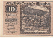 10 Heller (Altlengbach) – avers