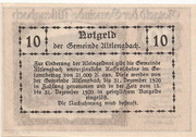 10 Heller (Altlengbach) – revers