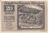 20 Heller (Altlengbach) – avers
