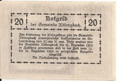 20 Heller (Altlengbach) – revers