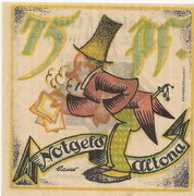 75 Pfennig (Altona ) – revers