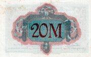 20 Mark (Altona) – revers