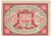 10 Heller (Ultichwendt) -  avers
