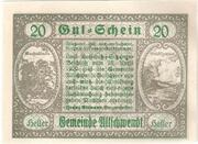 20 Heller (Ultichwendt) -  revers