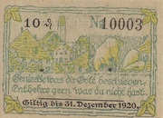 10 Pfennig (Altusried) – revers
