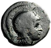 Trichalkon (Alyzeia) – avers