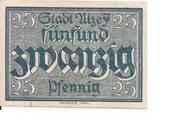 25 Pfennig (Alzey) – avers