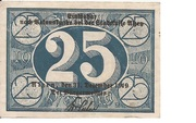 25 Pfennig (Alzey) – revers
