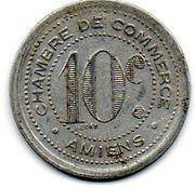 10 Centimes - Chambre de Commerce - Amiens [80] -  revers