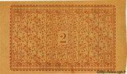 2 francs - Chambre de Commerce d'Amiens [80] -  revers