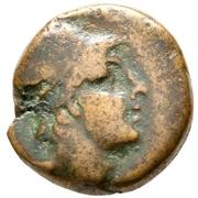 Bronze Æ17 - Mithradates VI (Amisos) – avers