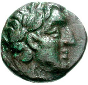 Bronze Æ15 (Amphissa) – avers