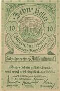 10 Heller (Amstetten, Schutzverein Antisemitenbund) – avers